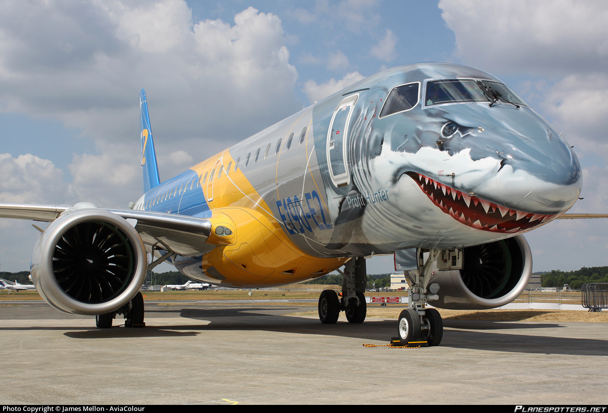 The Shark E190 E2 Jet Completes Its Tour Of Africa