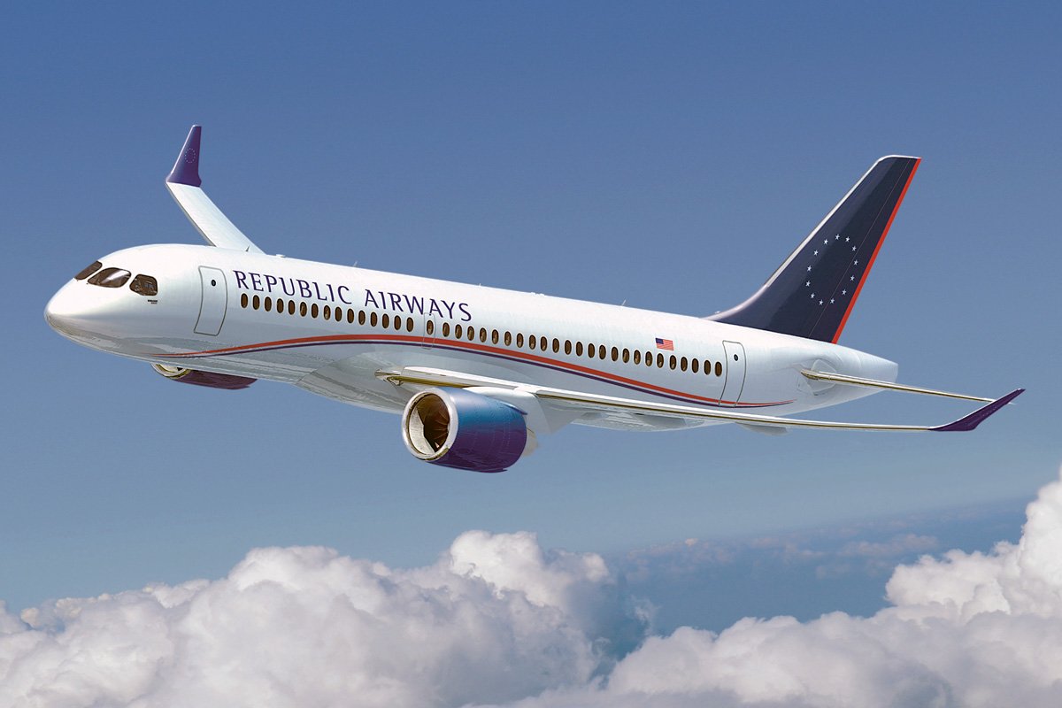 Republic Airlines orders 100 CF34-8E-powered E-Jets