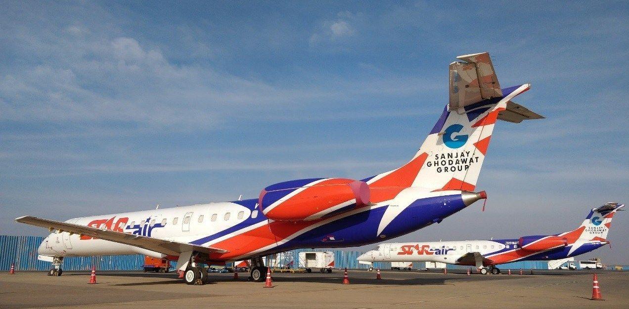 Resultado de imagen para star air Embraer E145
