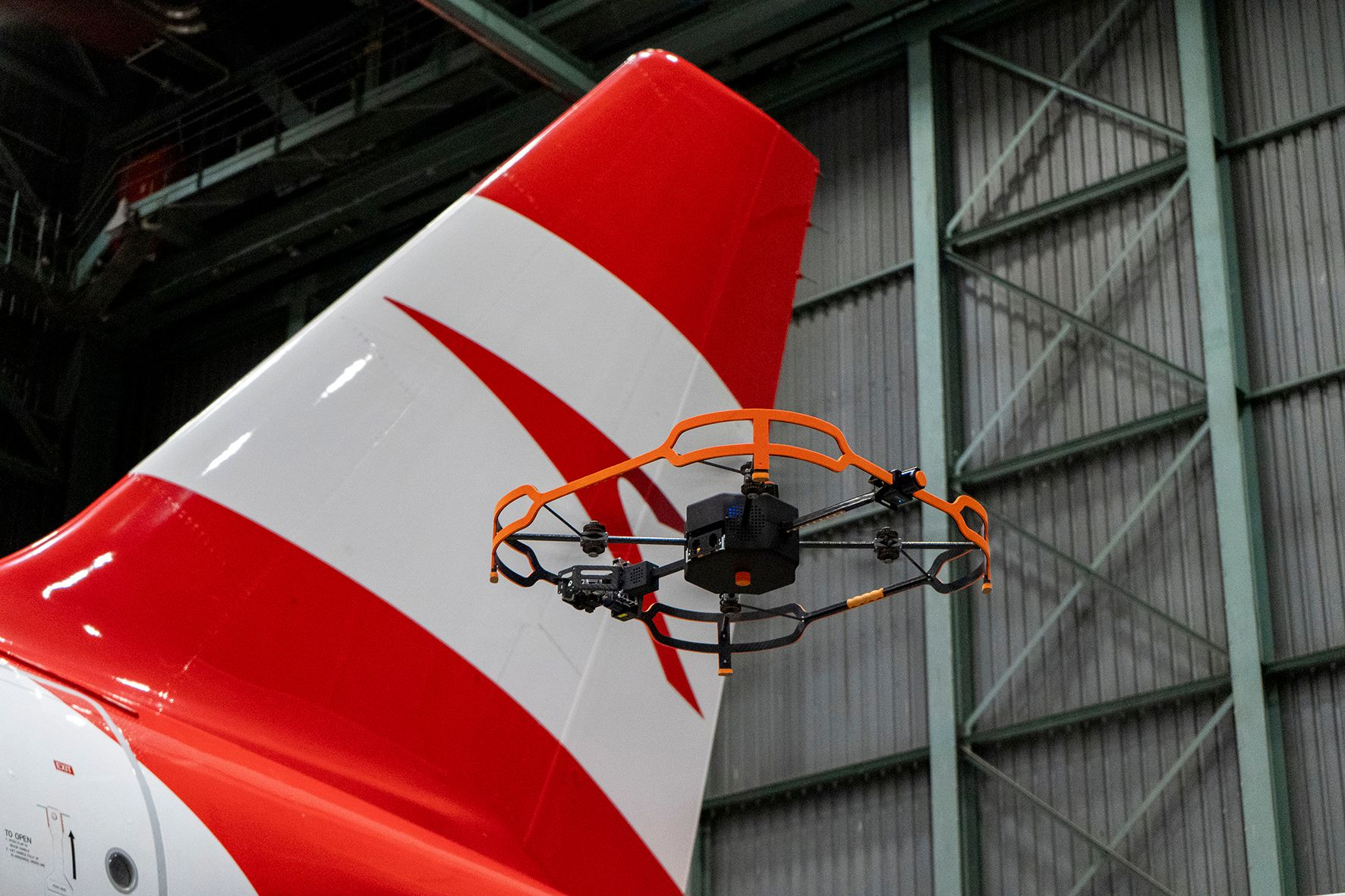 Kết quả hình ảnh cho Austrian Airlines Relies on Innovative Drone Technology for Aircraft Inspections images