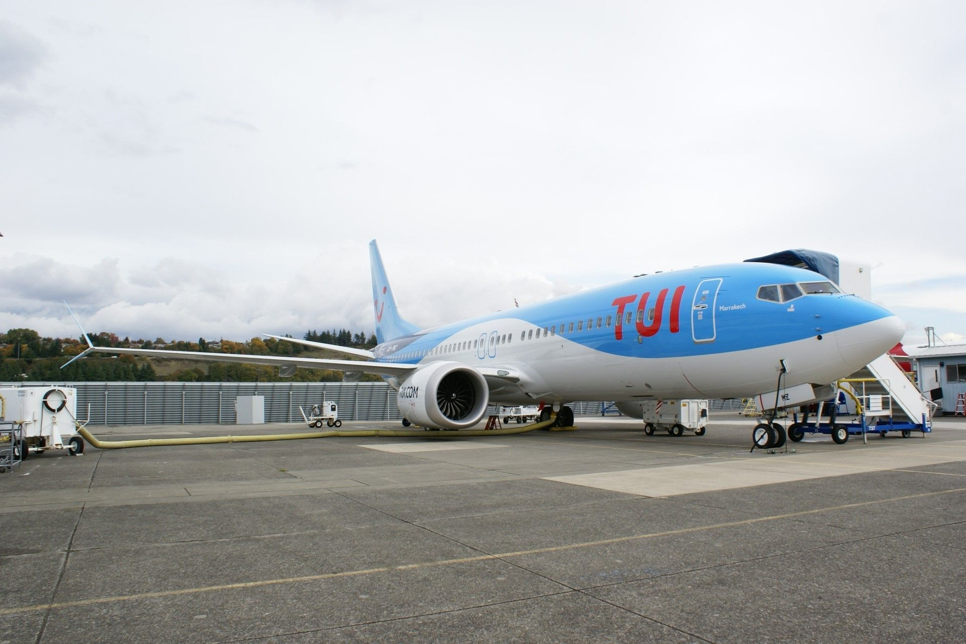 Aviation Capital Group Announces Delivery of One Boeing 737-8 MAX to TUI Travel